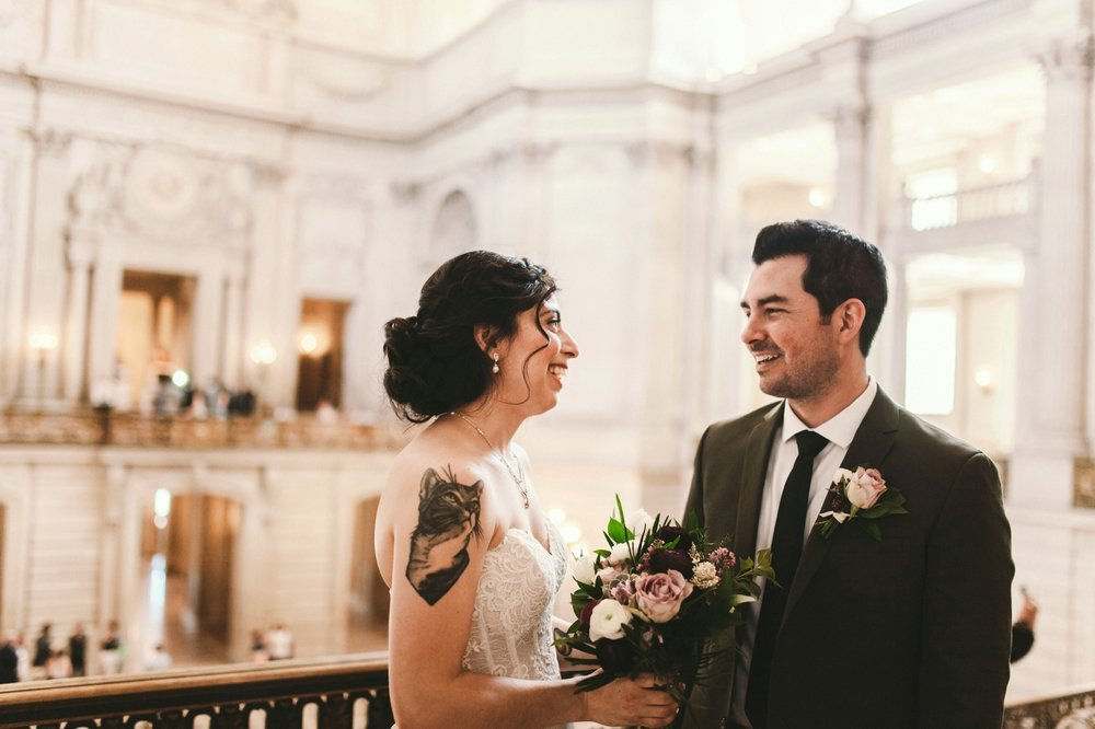 San Francisco City Hall & Stable Cafe Wedding Photography 179.jpg
