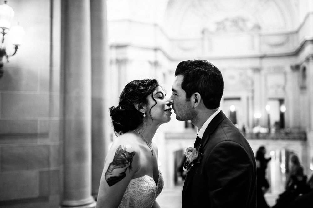 San Francisco City Hall & Stable Cafe Wedding Photography 218.jpg