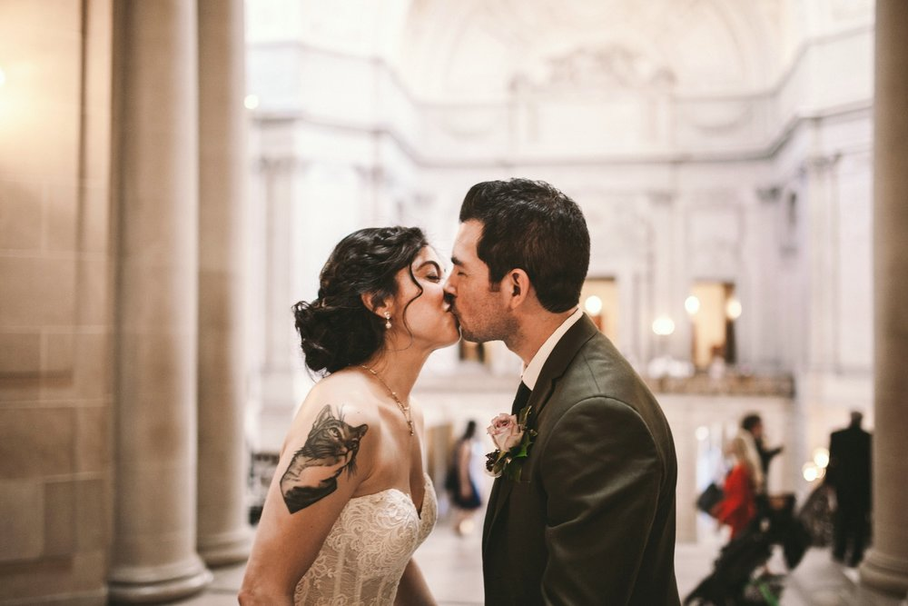 San Francisco City Hall & Stable Cafe Wedding Photography 220.jpg
