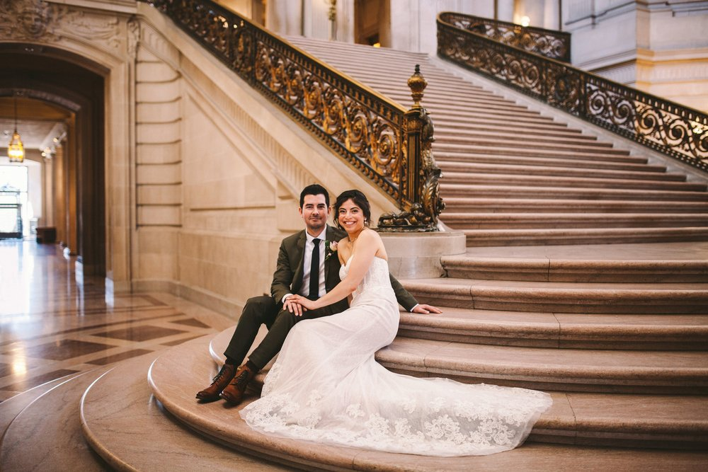 San Francisco City Hall & Stable Cafe Wedding Photography 304.jpg