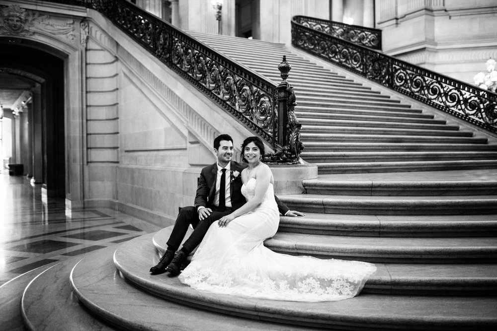 San Francisco City Hall & Stable Cafe Wedding Photography 303.jpg