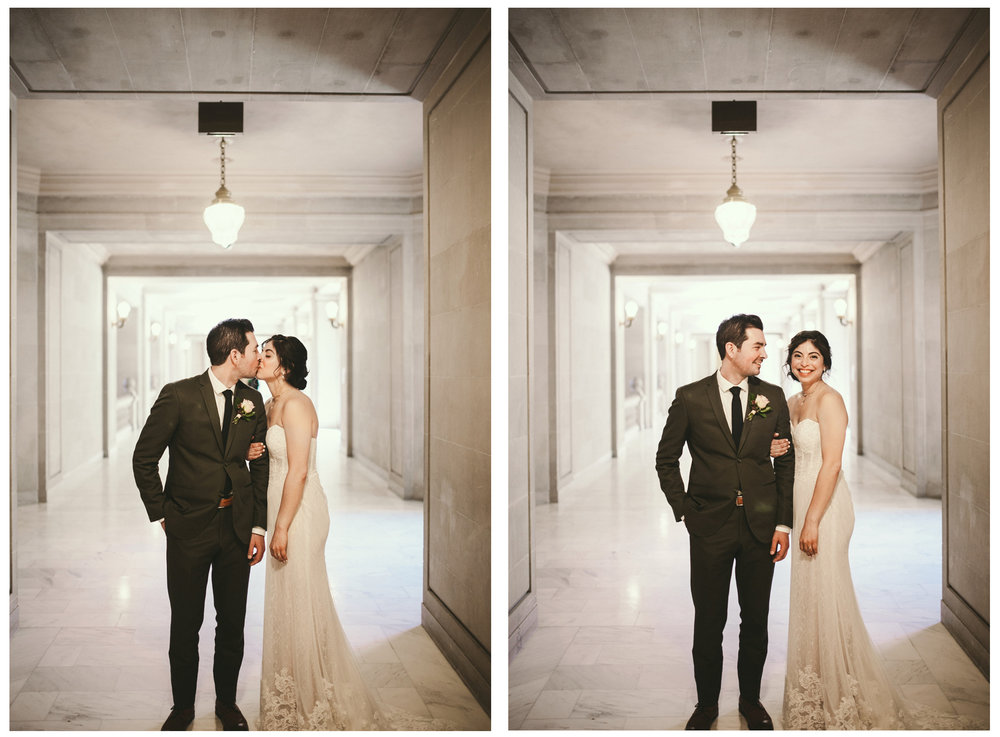 San Francisco City Hall & Stable Cafe Wedding Photography Double 8.jpg