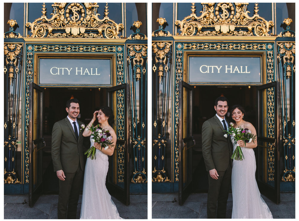 San Francisco City Hall & Stable Cafe Wedding Photography Double 10.jpg