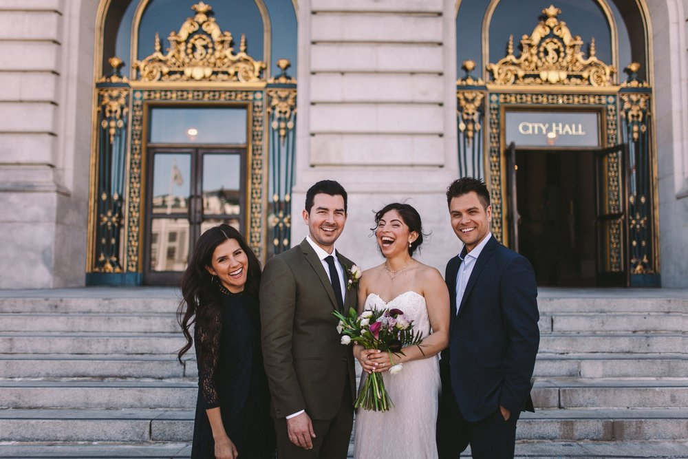 San Francisco City Hall & Stable Cafe Wedding Photography 324.jpg