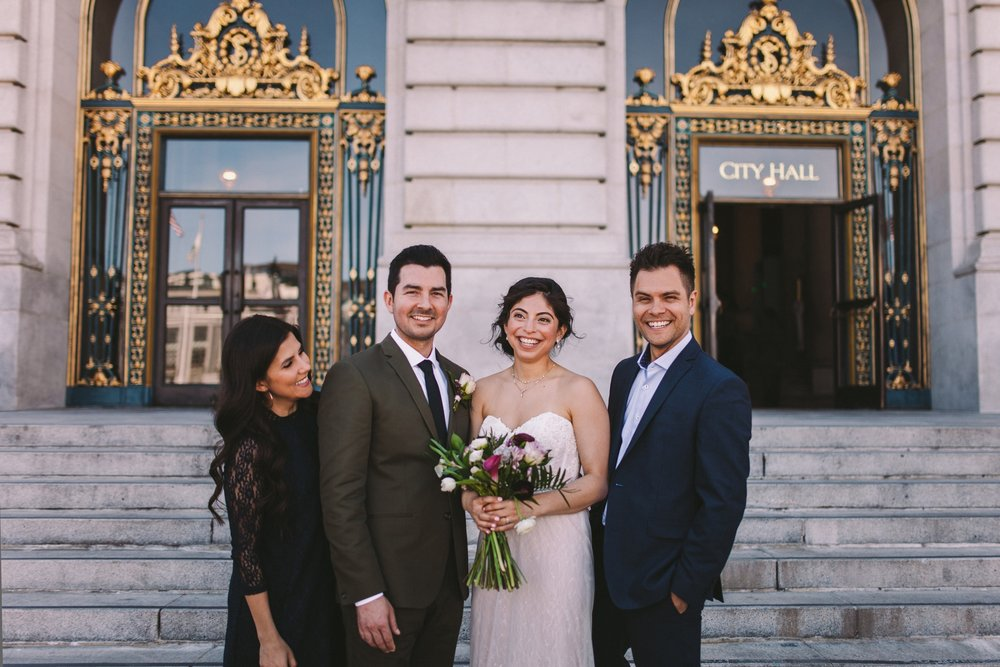 San Francisco City Hall & Stable Cafe Wedding Photography 322.jpg