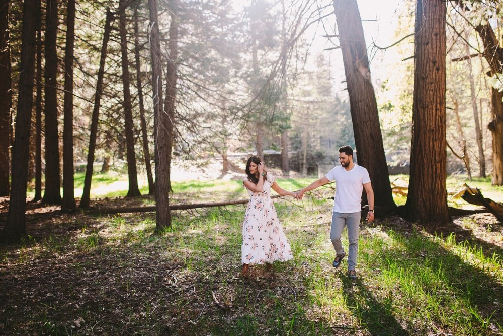 Stoneman Meadow Yosemite Engagement