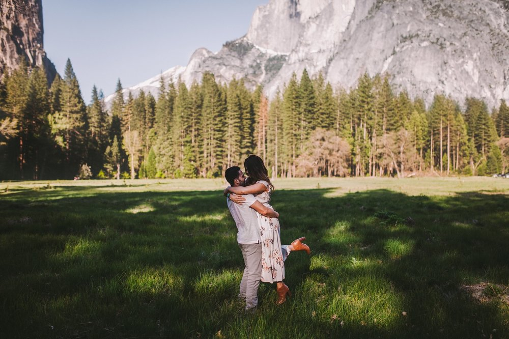 Half Dome Engagement Shoot