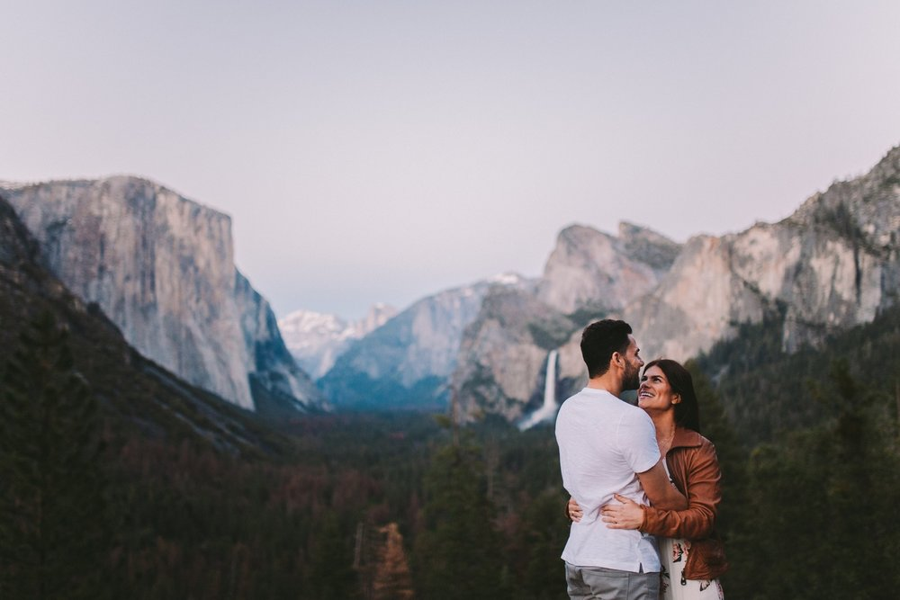 Yosemite Vista Engagement Shoot