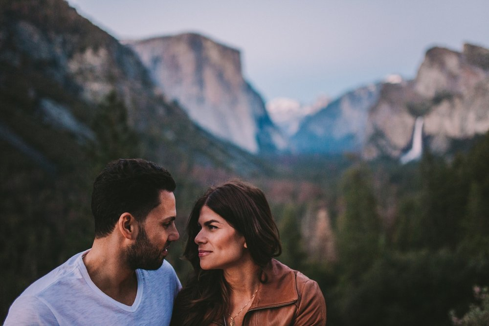 Engagement Session Yosemite