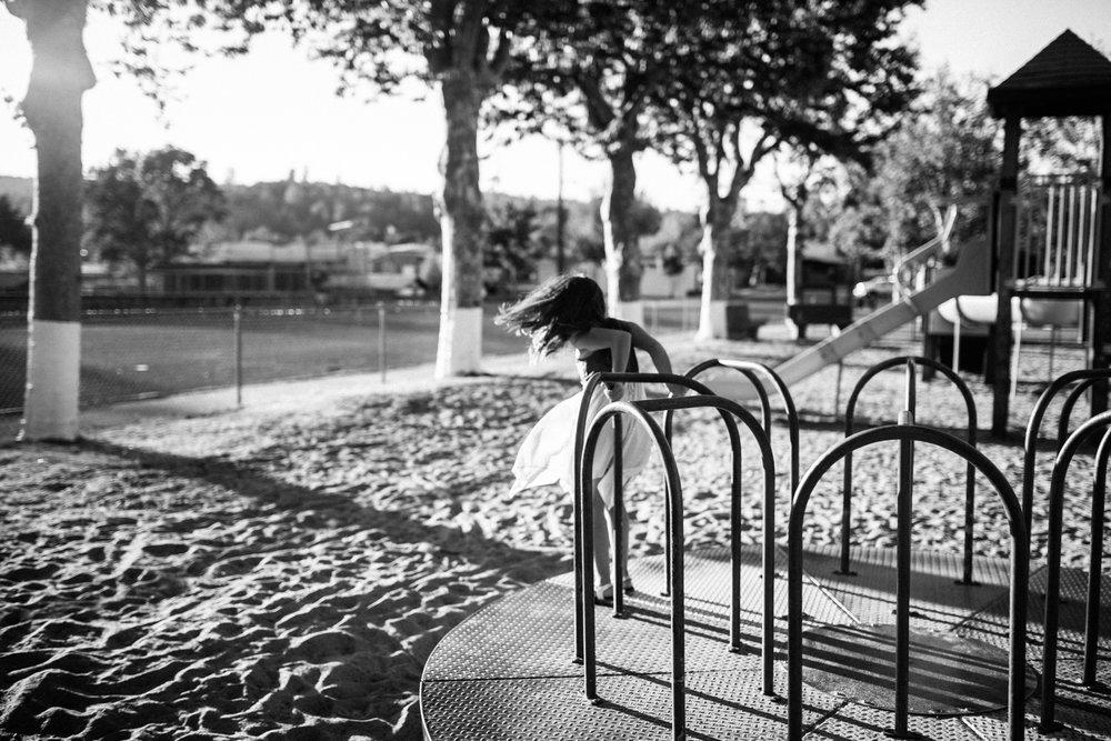 Tuolumne City Memorial Park Family Photography Portrait