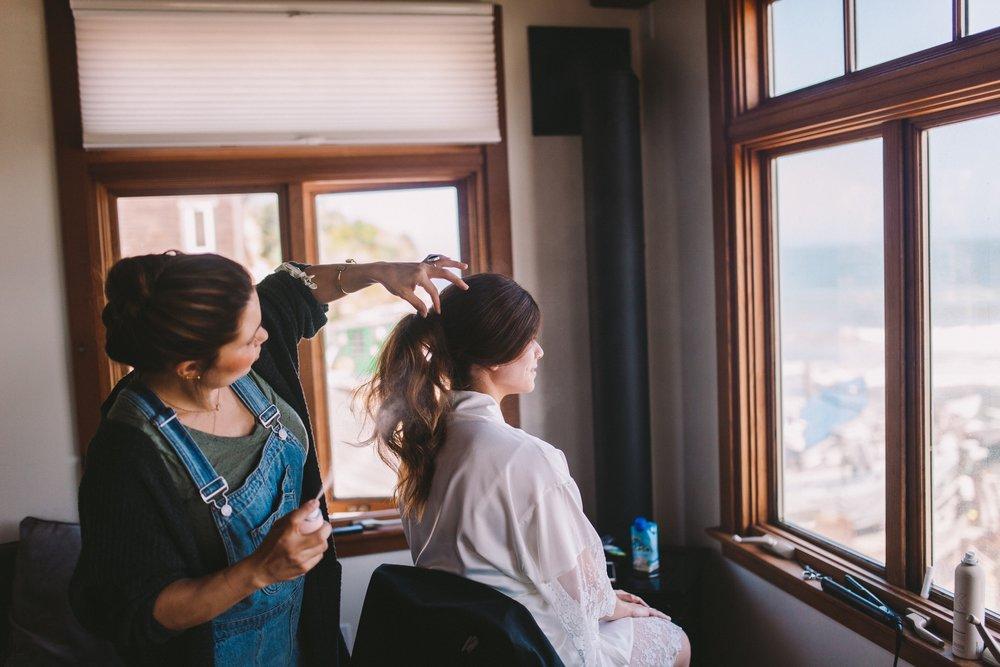 Natacha Dennoun Wedding Hair Stylist