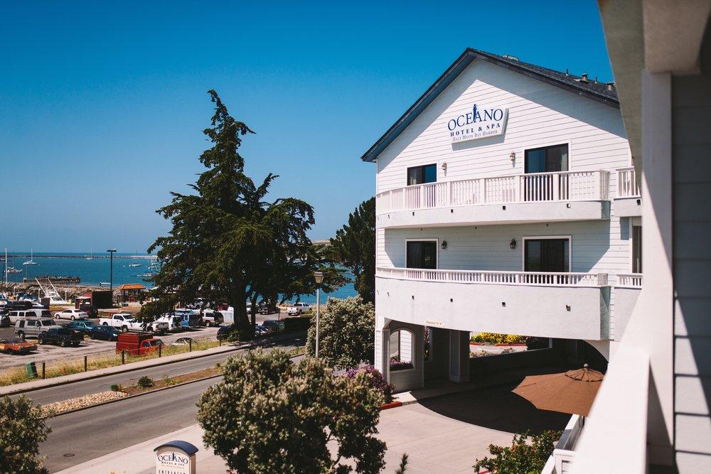 Oceano Hotel & Spa Wedding Groom Prep Half Moon Bay