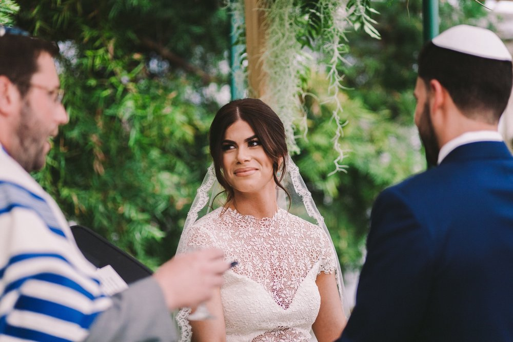 Shelldance Orchid Gardens Jewish Wedding Ceremony Pacifica