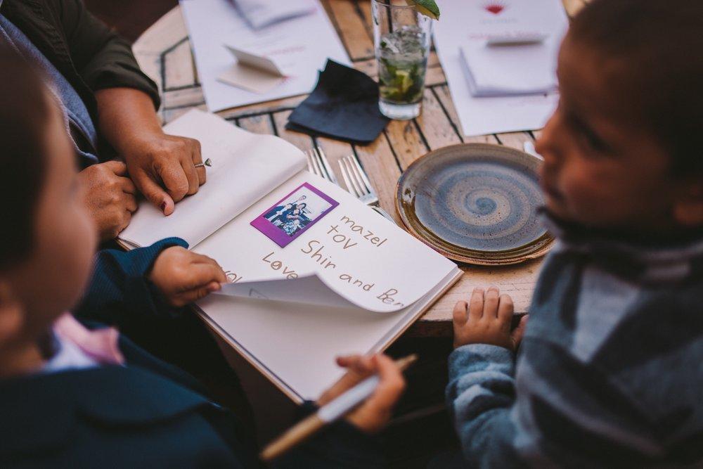 Fuji Instax Mini Wedding Guestbook Mazel Tov!
