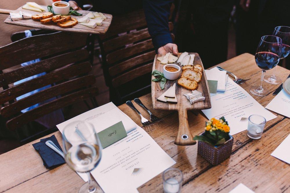 t's Italia Intimate Restaurant Wedding Reception