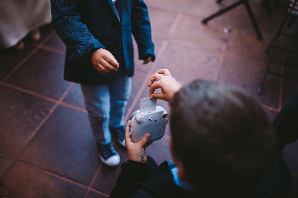 Fuji Instax Mini Wedding Guestbook