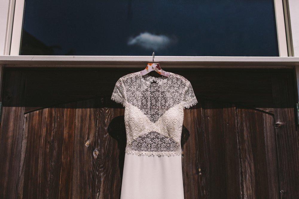 Anais Anette Savannah Wedding Dress Gown Real Wedding Loho Bride