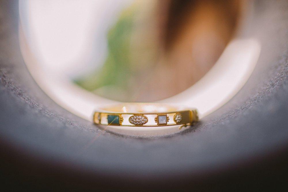 Freida Rothman Amazonian Allure Bangle Bracelet Wedding Bride