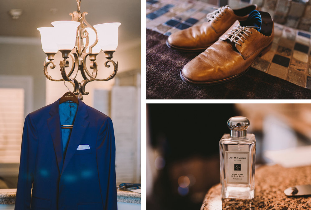 Ermenegildo Zegna Navy Groom Wedding Suit