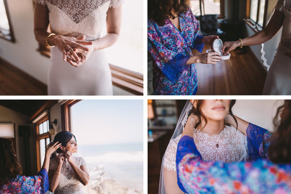 Airbnb Pedro Point Boat House Pacifica Bridal Wedding Prep