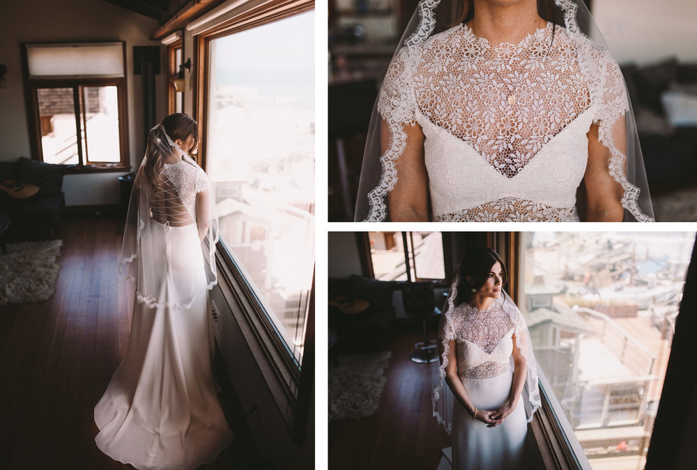 Real Bride in Anais Anette Savannah Wedding Gown Dress Pacifica