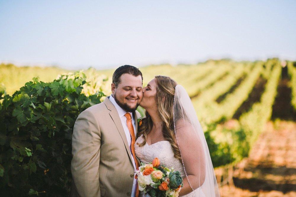 Toca Madera Winery Vineyard Wedding Portraits