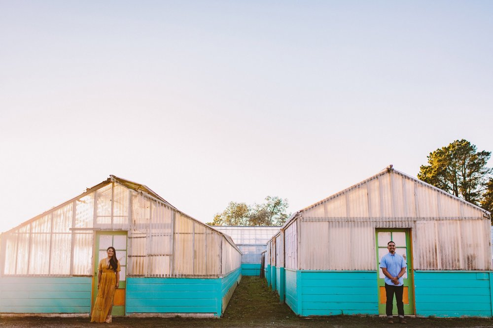 Shelldance Orchid Gardens Greenhouse Engagement Session Pacifica 40.jpg
