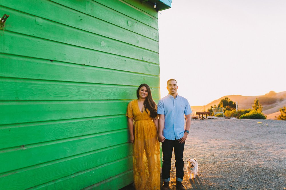 Shelldance Orchid Gardens Greenhouse Engagement Session Pacifica 48.jpg
