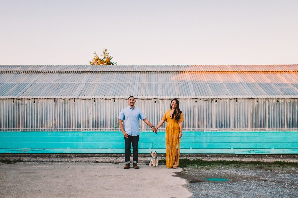 Shelldance Orchid Gardens Greenhouse Engagement Session Pacifica 50.jpg