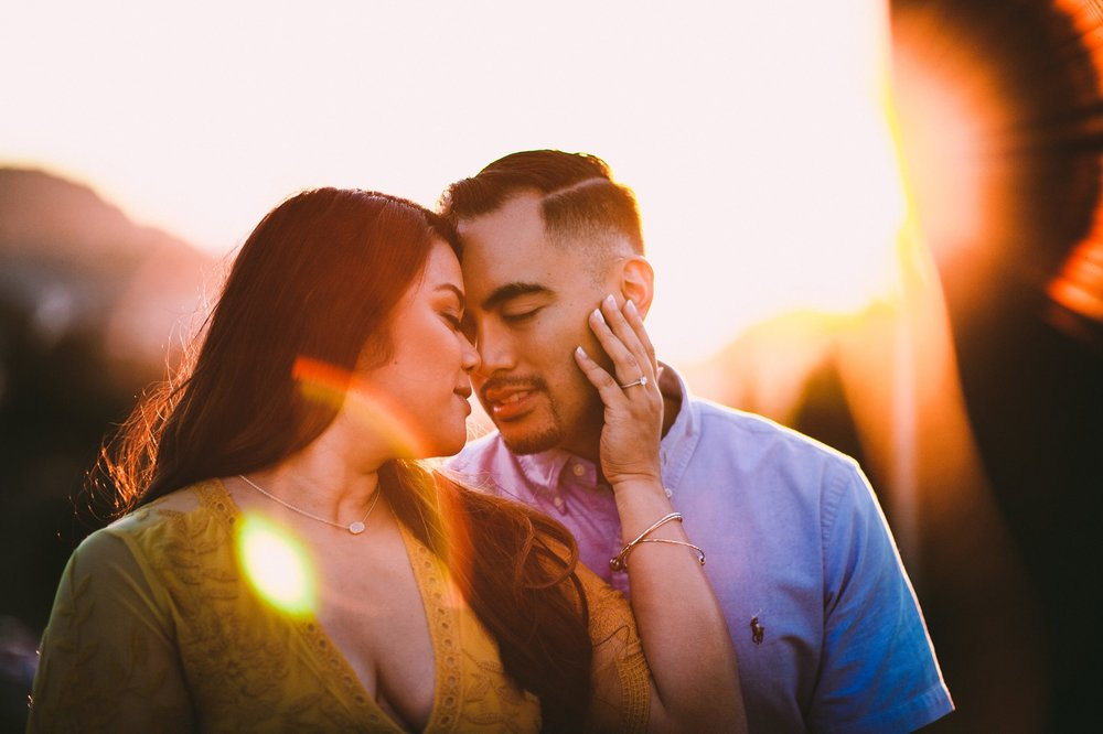 Shelldance Orchid Gardens Greenhouse Engagement Session Pacifica 54.jpg