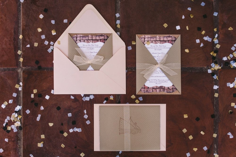 Bridal DIY Wedding Invitations