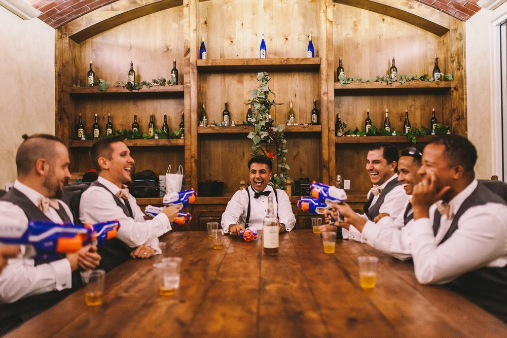 Nerf Gun Groomsmen Gift Wedding