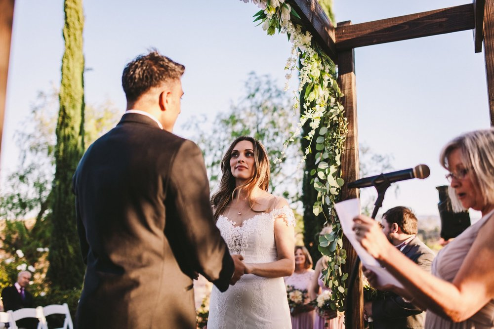 Falkner Winery Wedding Ceremony Photography Temecula
