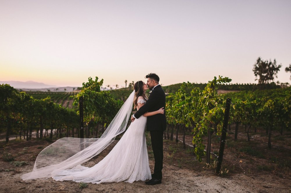 Falkner Winery Temecula Wedding Photographer
