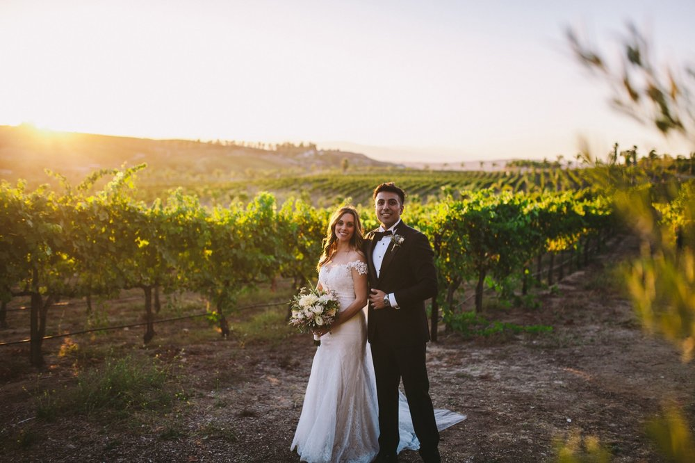 Relaxed and Elegant Temecula Wedding Photographers