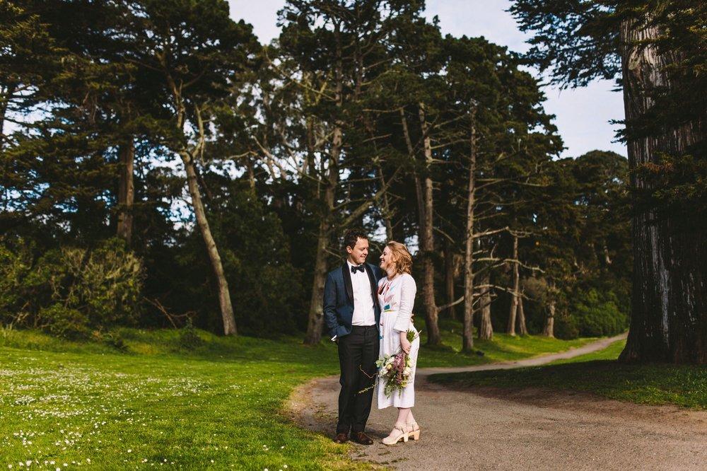 Golden Gate Park Shakespeare Garden Intimate Wedding-105.jpg