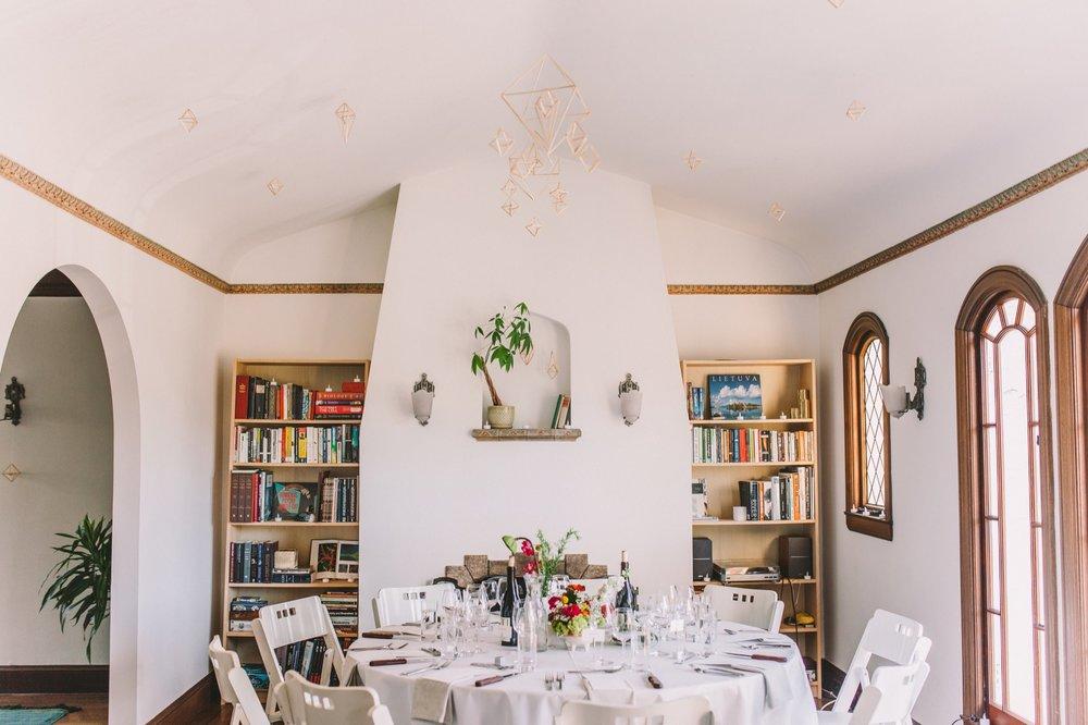 San Francisco Rental Apartment Wedding Reception