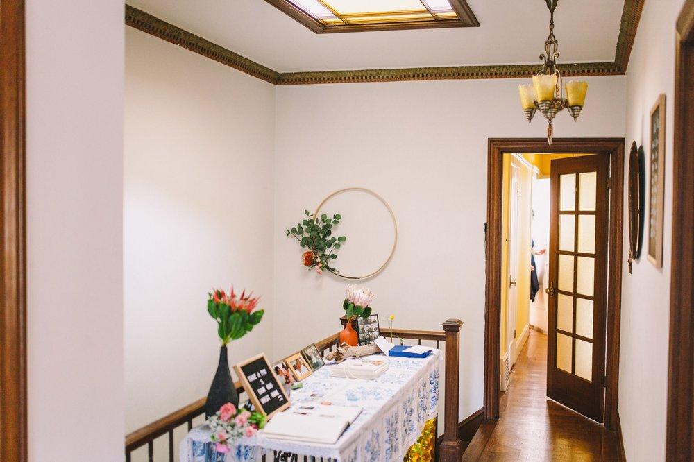 Wedding in Rental Apartment San Francisco