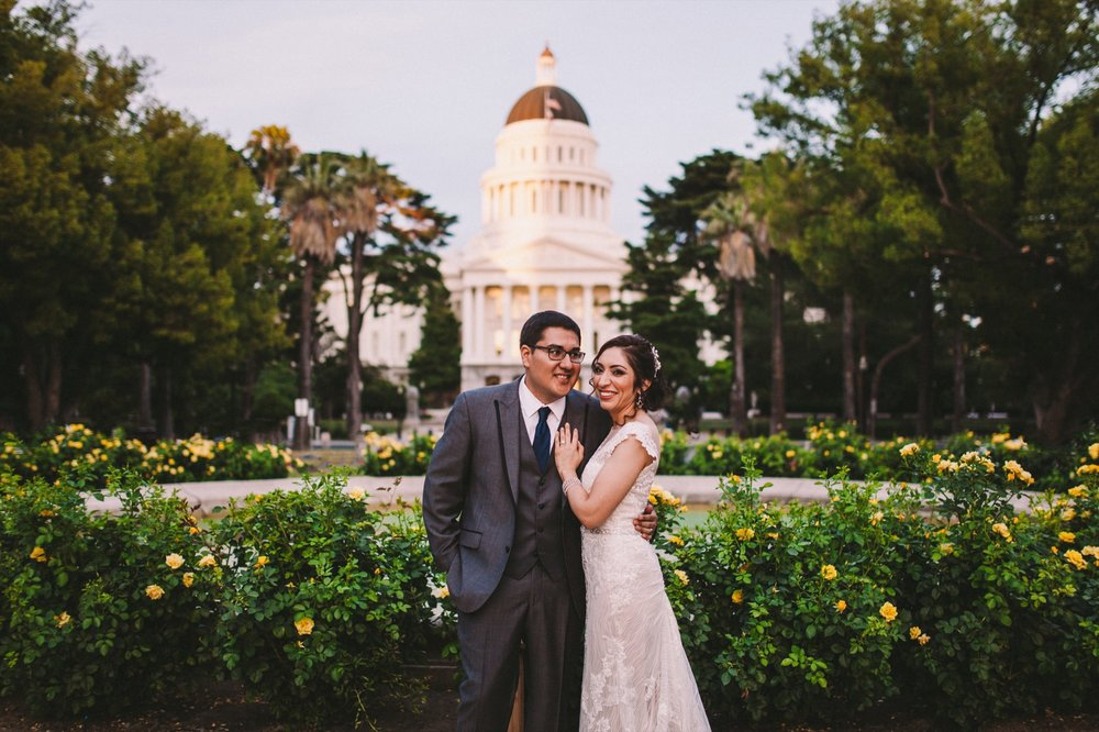 Sacramento Sutter Club & Capitol Building Wedding Photography-579.jpg