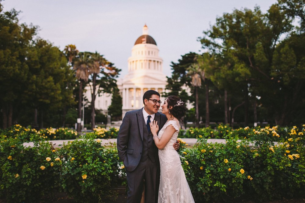 Sacramento Sutter Club & Capitol Building Wedding Photography-583.jpg