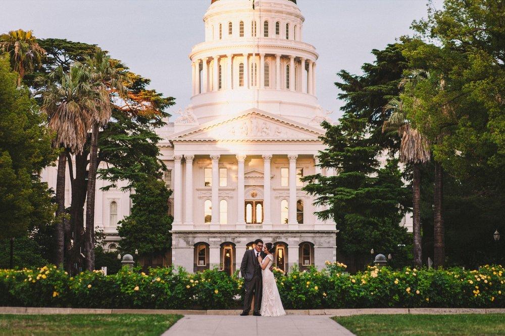 Sacramento Sutter Club & Capitol Building Wedding Photography-587.jpg