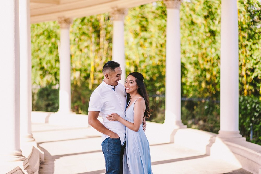 Balboa Park Evening Engagement Photography Session San Diego-5.jpg