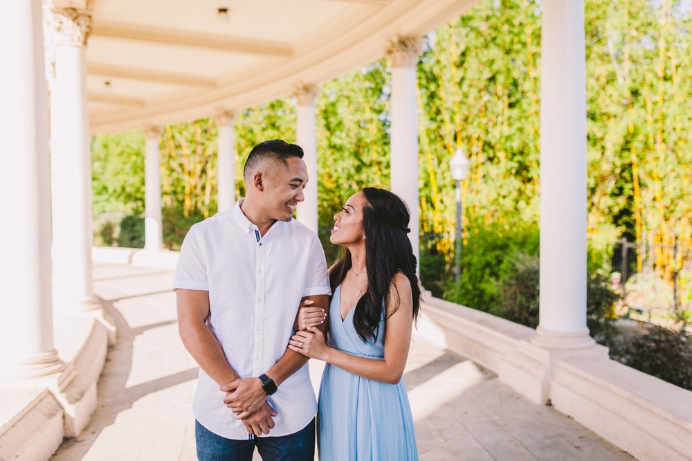 Balboa Park Evening Engagement Photography Session San Diego-6.jpg
