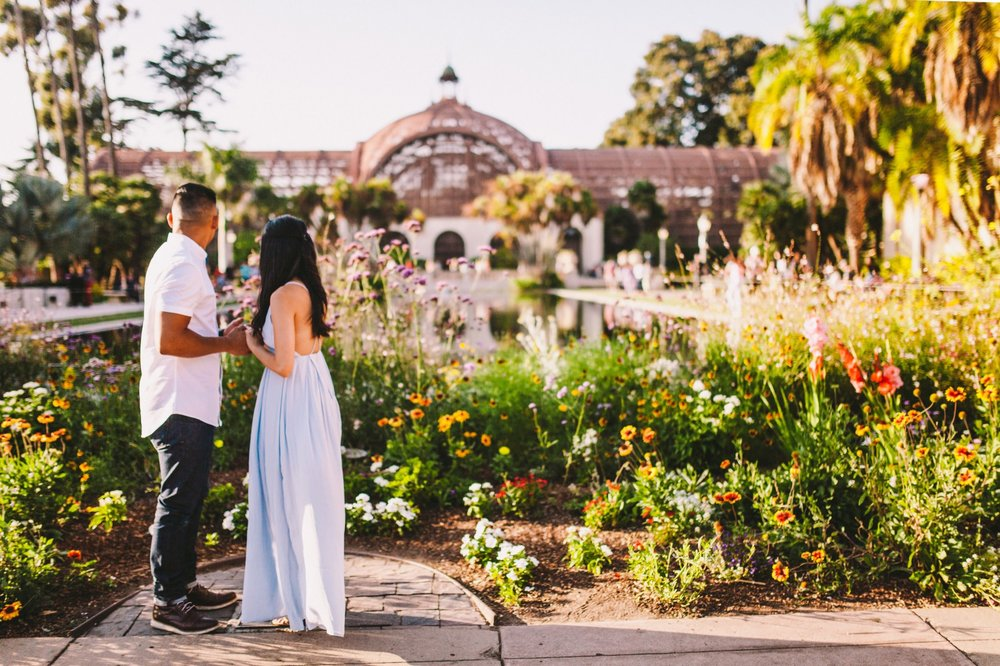 Balboa Park Evening Engagement Photography Session San Diego-34.jpg