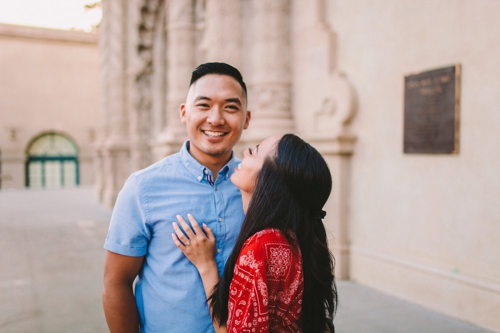 Balboa Park Evening Engagement Photography Session San Diego-40.jpg
