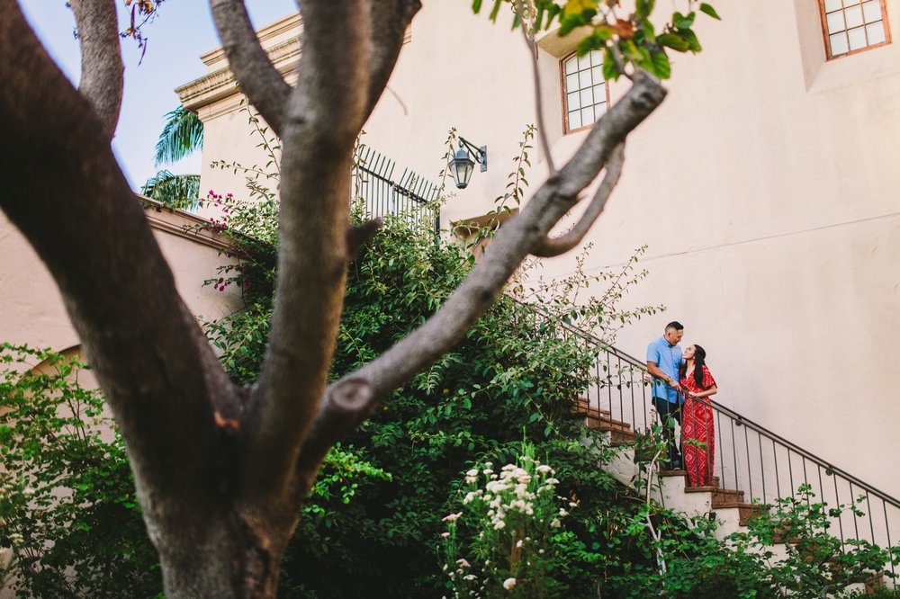 Balboa Park Evening Engagement Photography Session San Diego-43.jpg