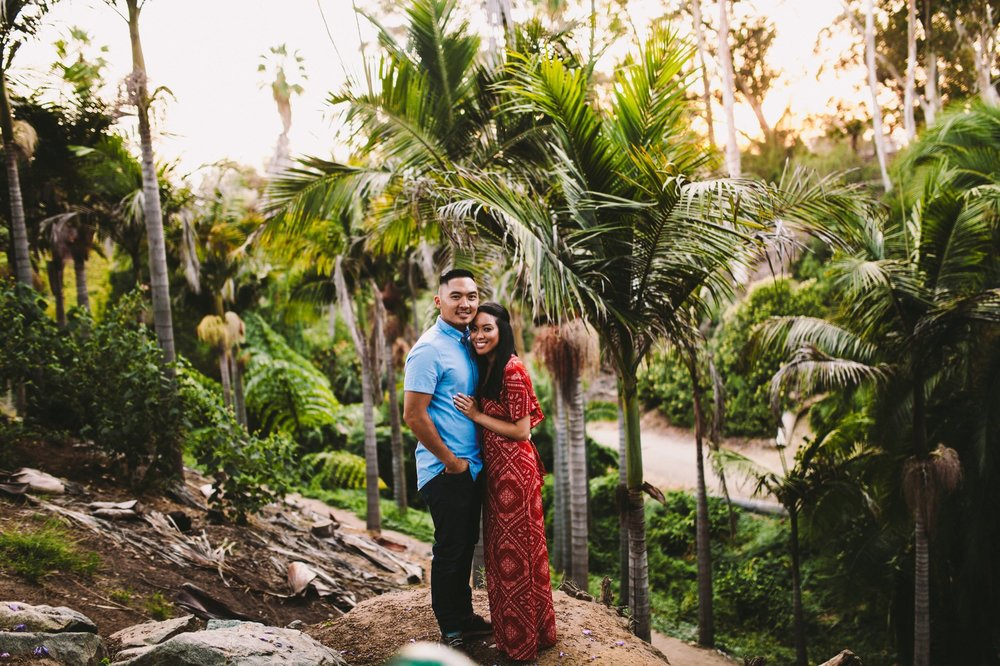 Balboa Park Evening Engagement Photography Session San Diego-49.jpg