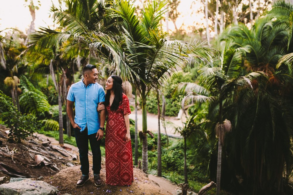 Balboa Park Evening Engagement Photography Session San Diego-53.jpg