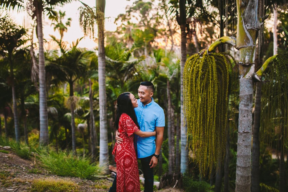 Balboa Park Evening Engagement Photography Session San Diego-57.jpg