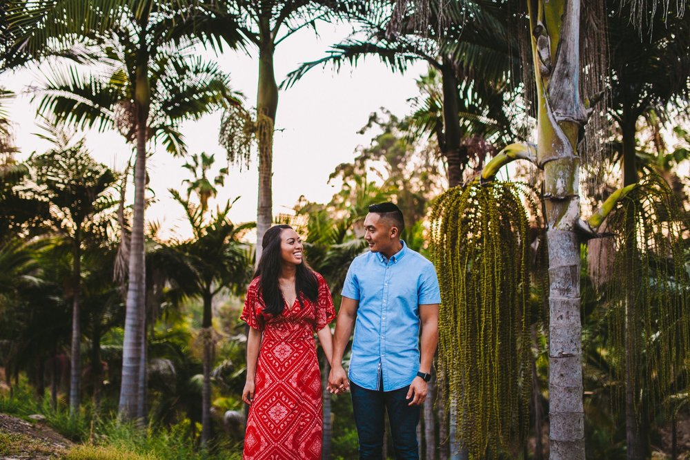 Balboa Park Evening Engagement Photography Session San Diego-58.jpg
